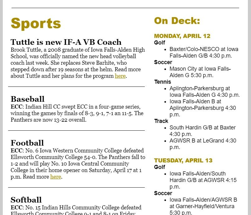 TC Daily Sports