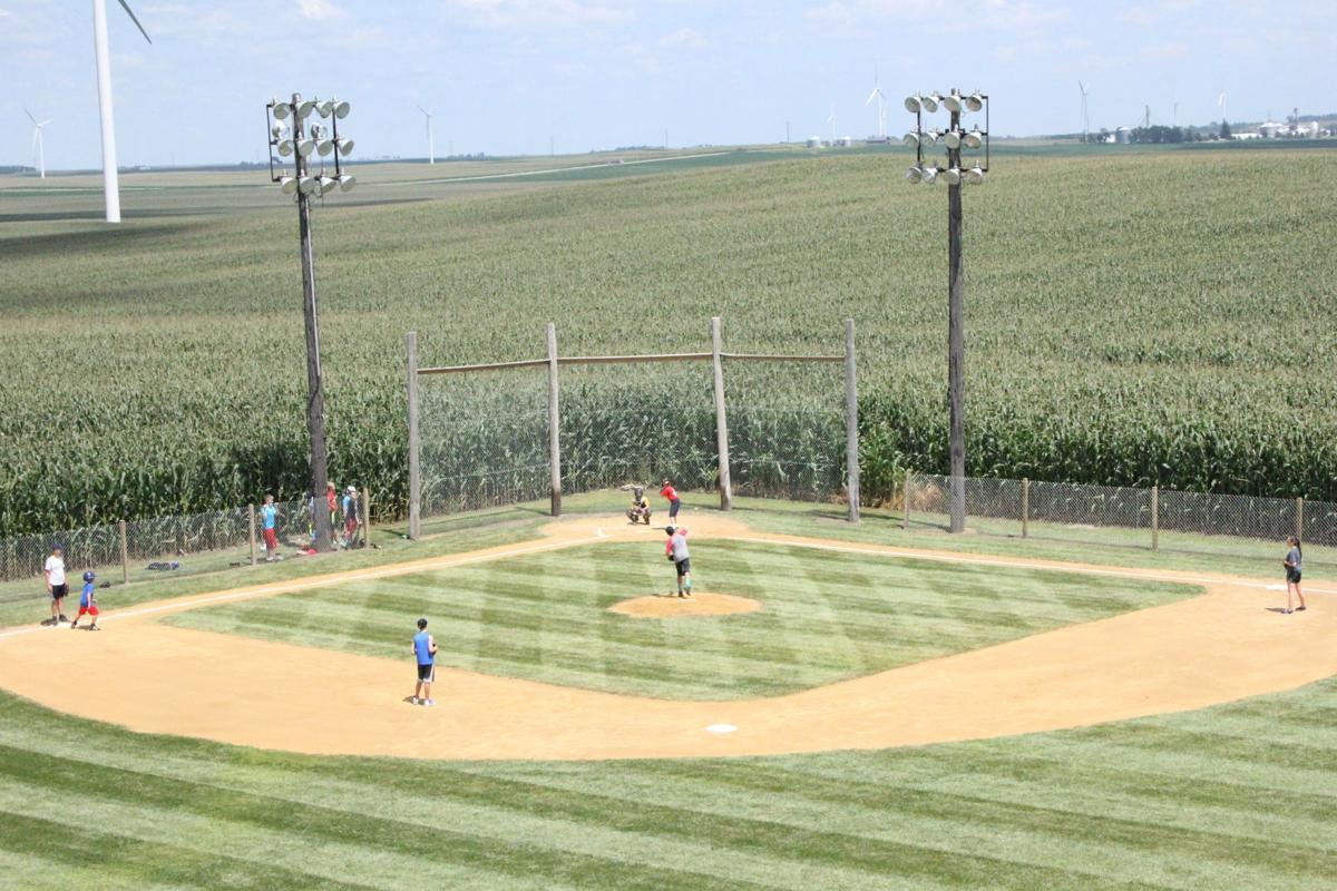 Backyard Baseball: Ziesman builds diamond on home property ...