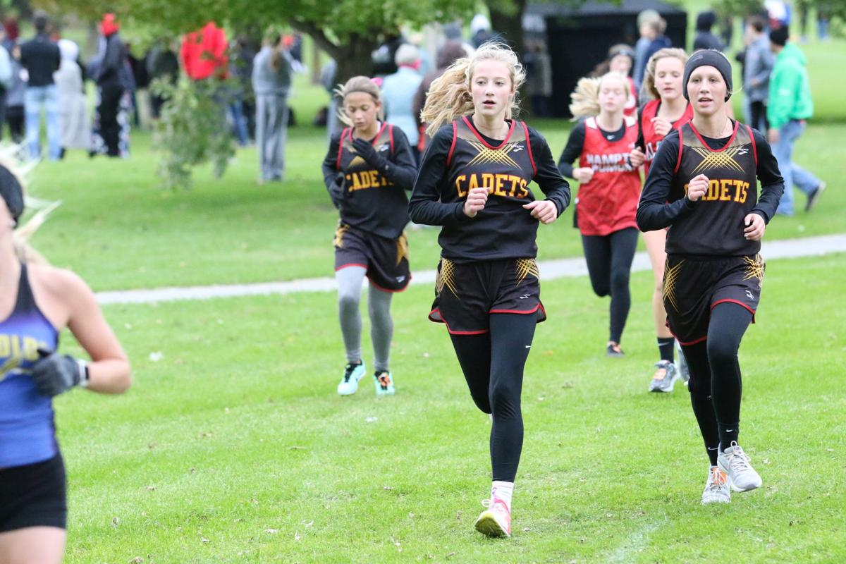 Cadet Girls Cross country