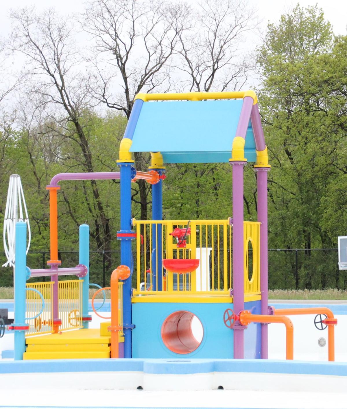 Meyer Municipal Aquatic Center Playground