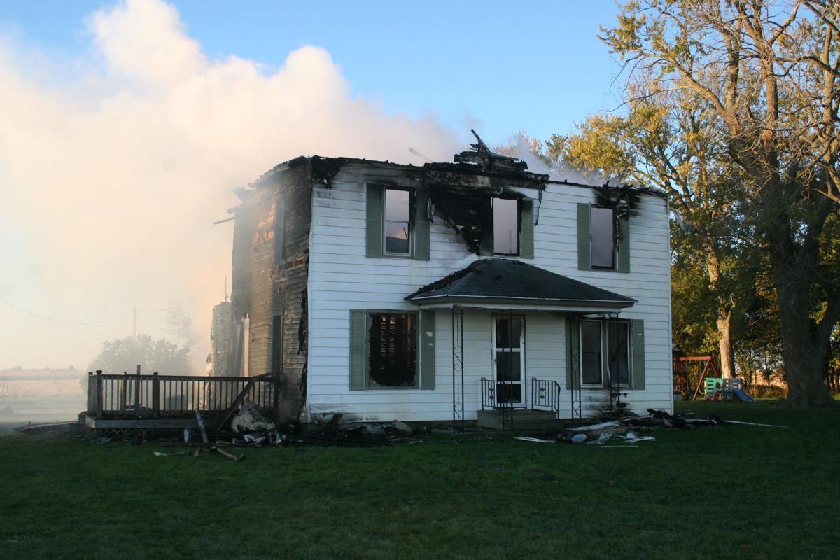 Fire destroys home near alden news for Alden homes