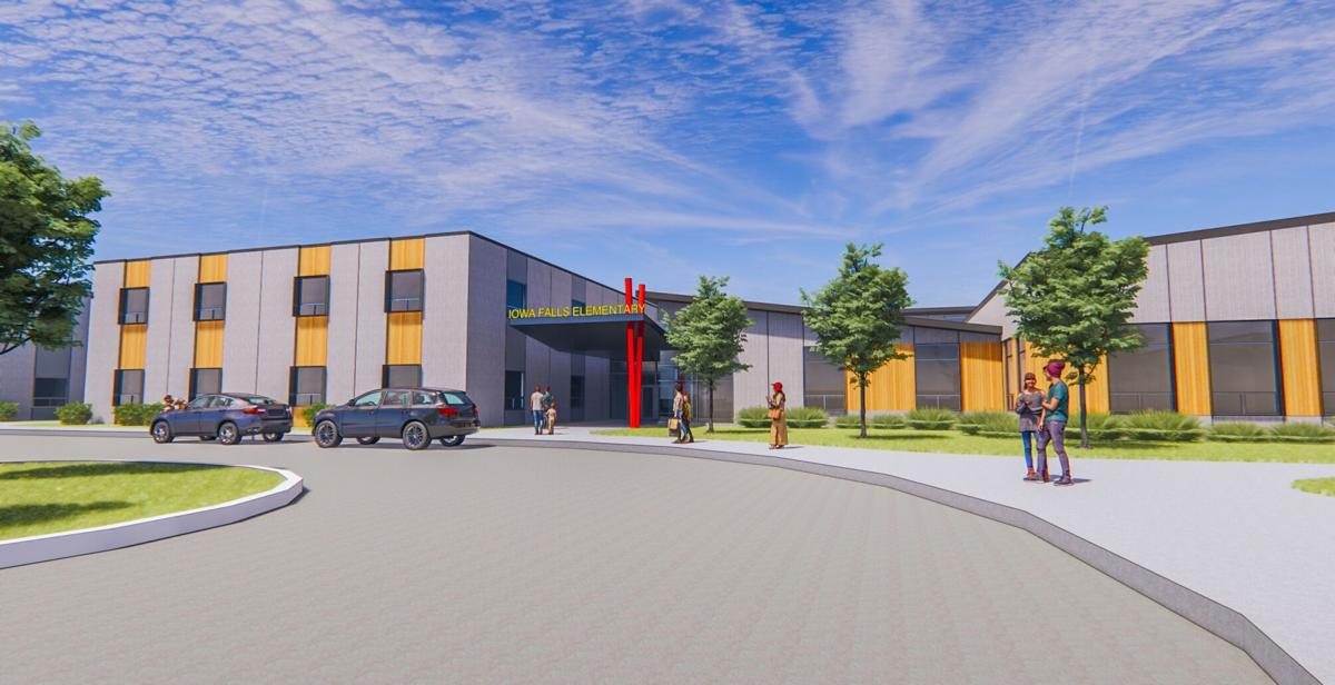 Iowa Falls Elementary Architectural Rendering