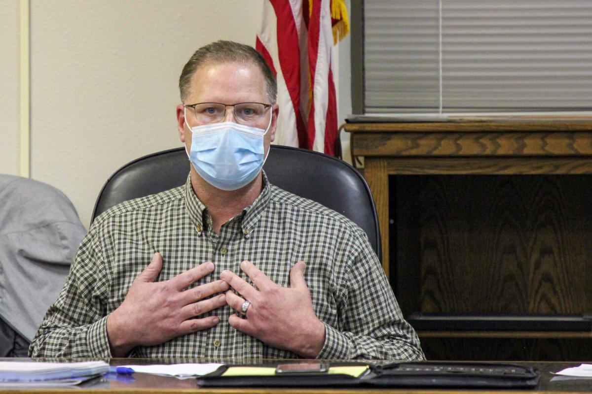 Iowa Falls School Board Todd Bicknese