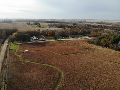 Calkins Nature Area Prairie Maze