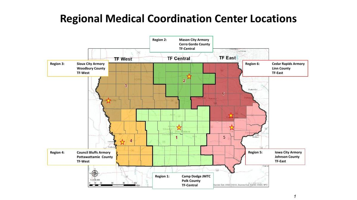 Iowa Regional Medical Coordination Centers