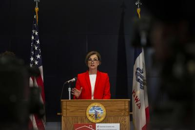 Gov. Kim Reynolds Press Conference April 8, 2020