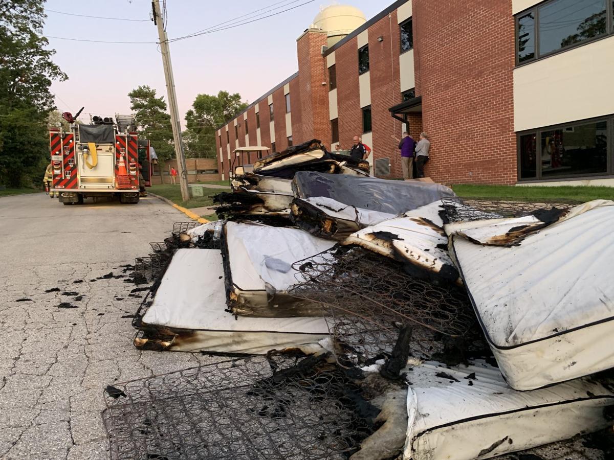 Thompson Hall Fire