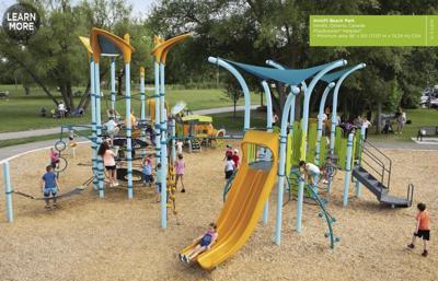 Memorial Park equipment
