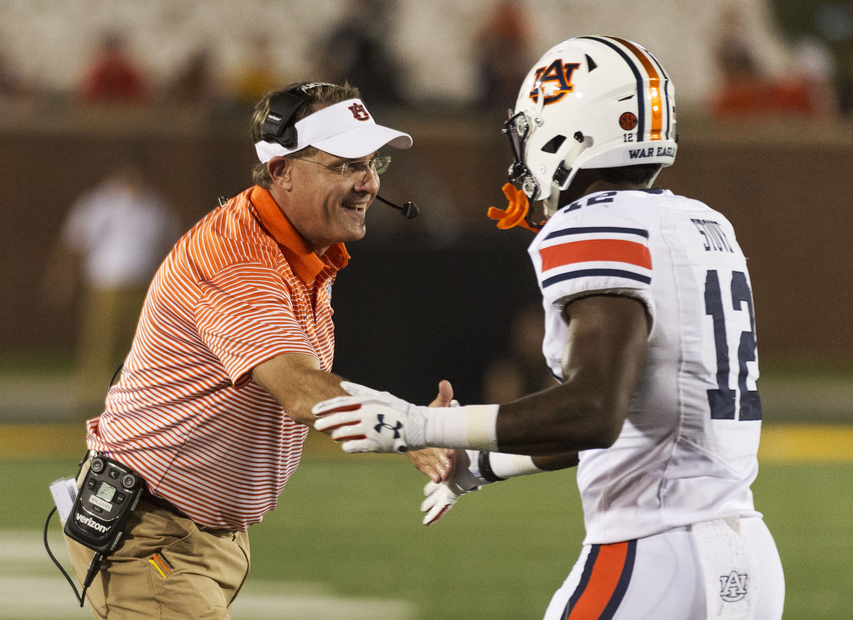 Early kickoff set for Auburn-Ole Miss on October 7