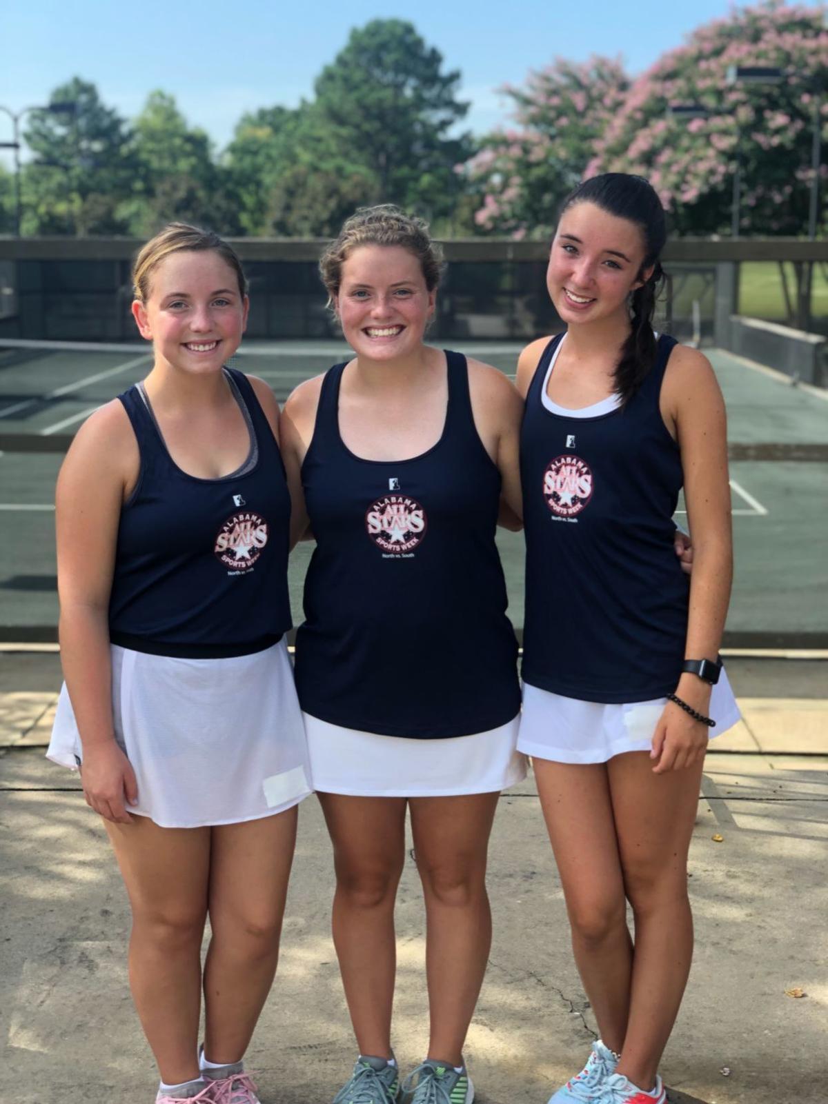 AHSAA All-Star tennis girls