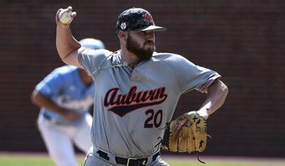 Cody Greenhill Auburn pitcher