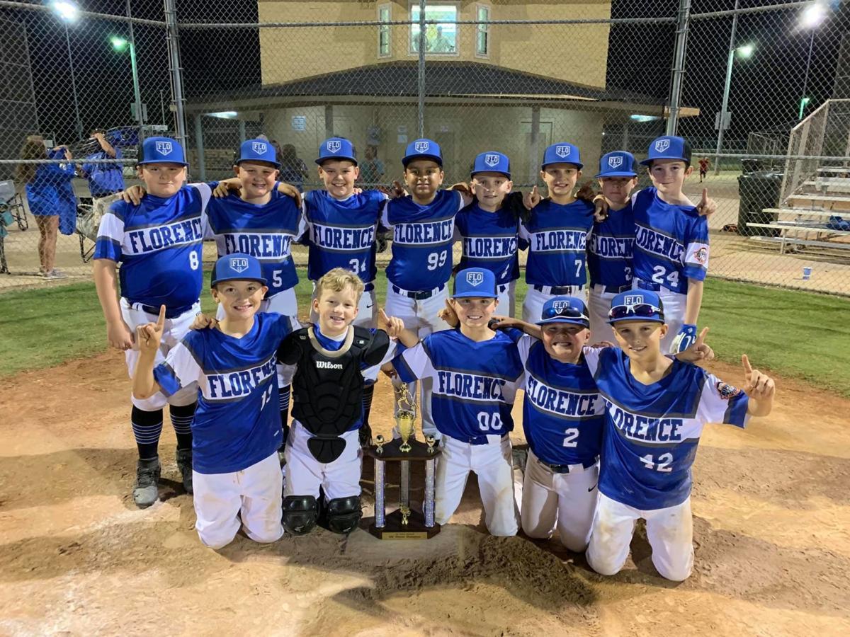 Florence 10U All-Star baseball