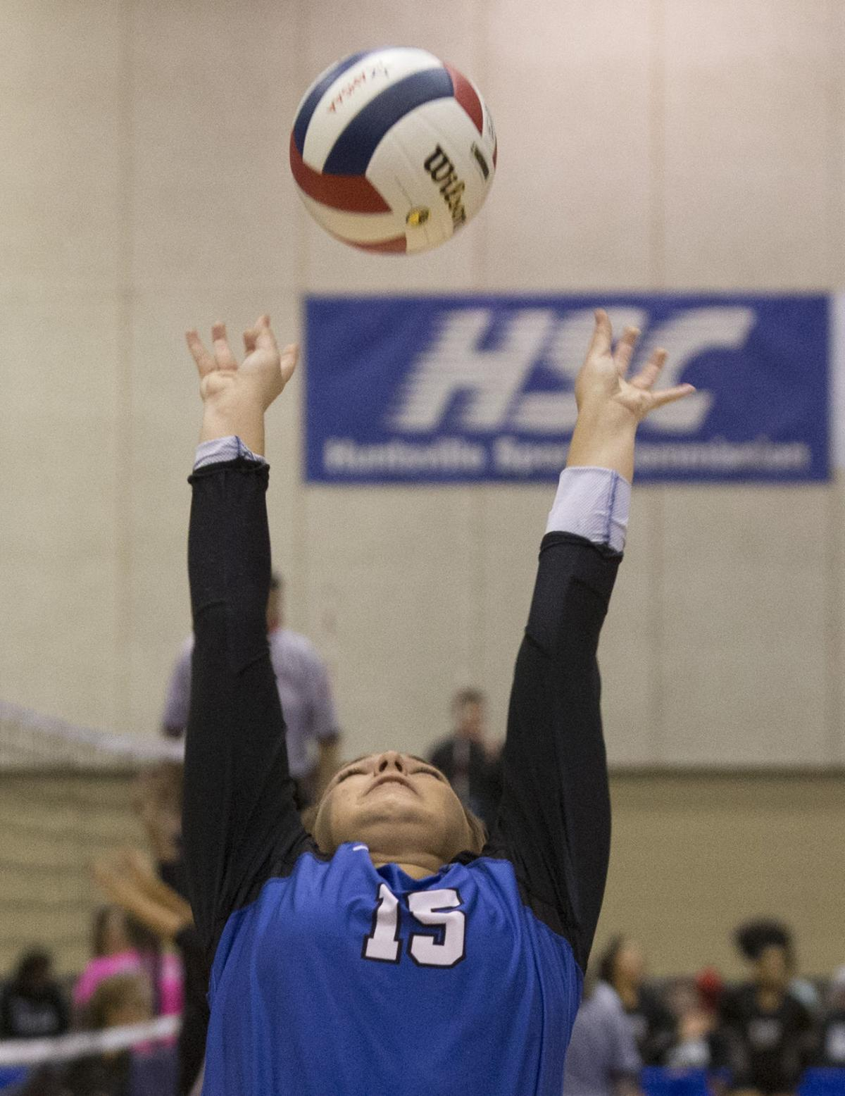 Florence volleyball Breylee Linder