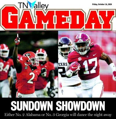 Oct. 16 gameday cover