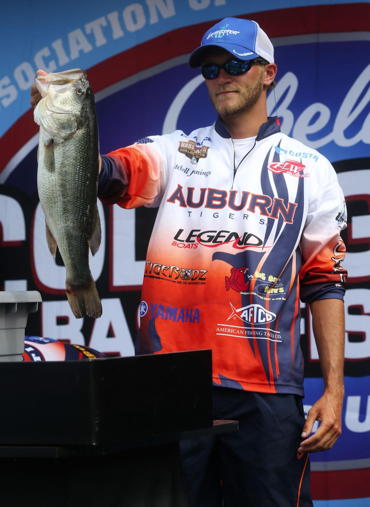 Boatus collegiate bass fishing championship day 2 for College bass fishing