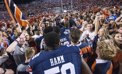 Iron bowl postgame