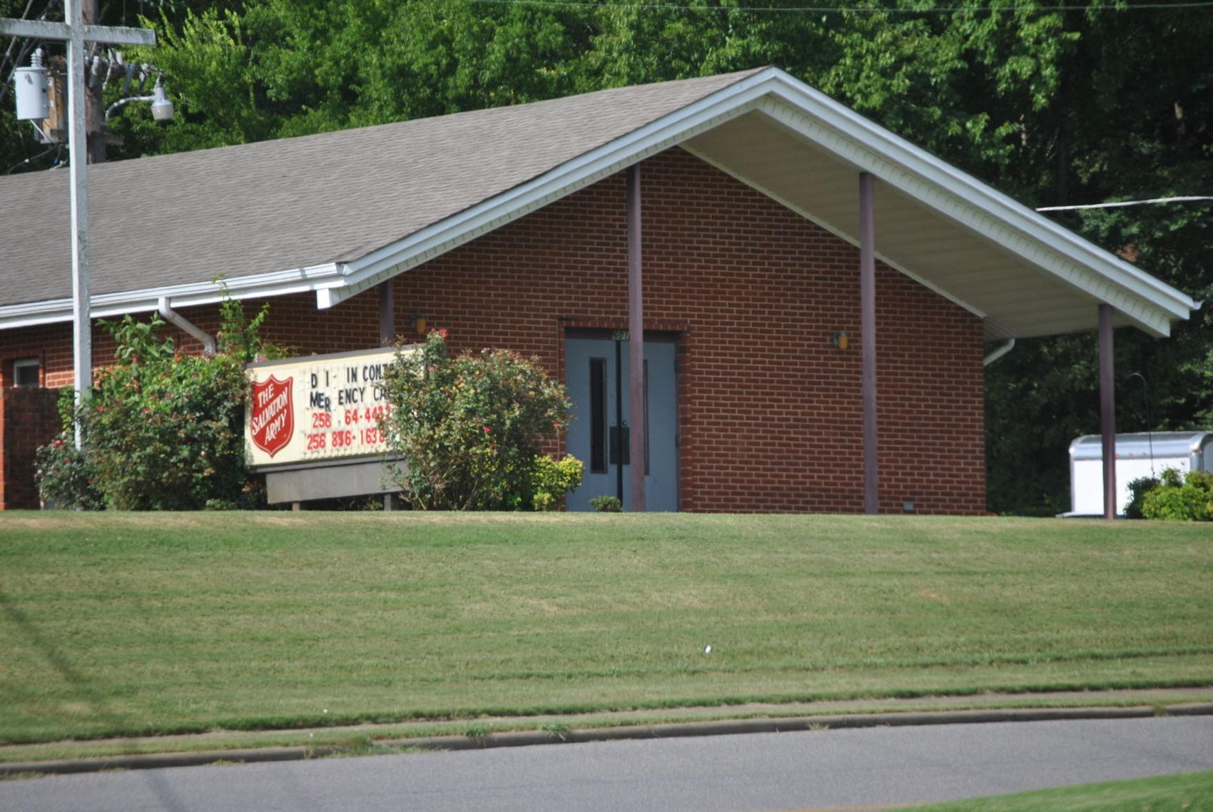 Salvation Army housewarming
