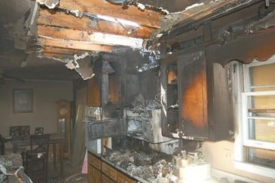 Overloading outlets can leave homes a burnt ruin
