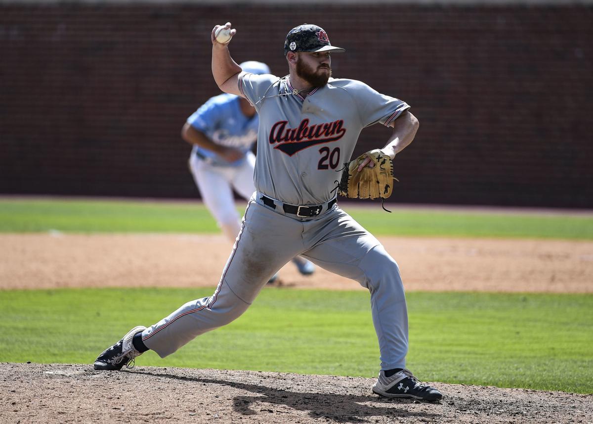 Cody Greenhill Auburn baseball pitcher