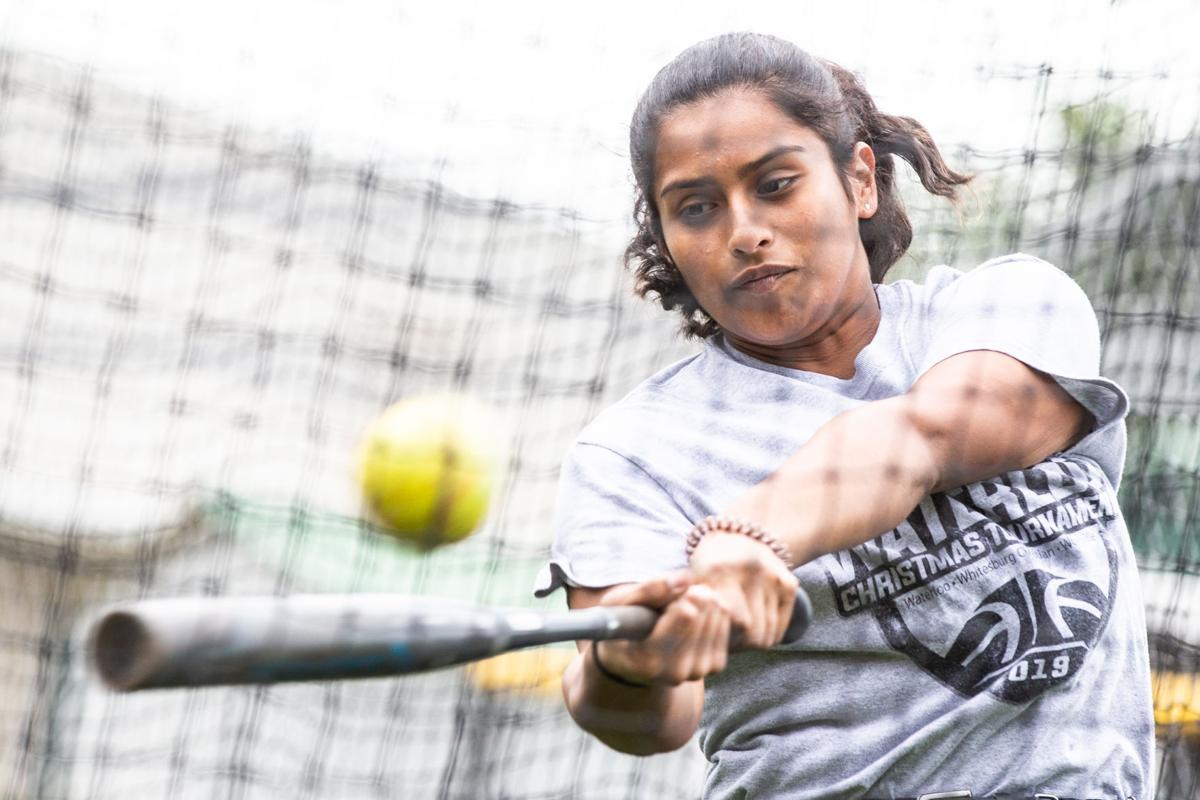 Valeria Peralta Waterloo softball