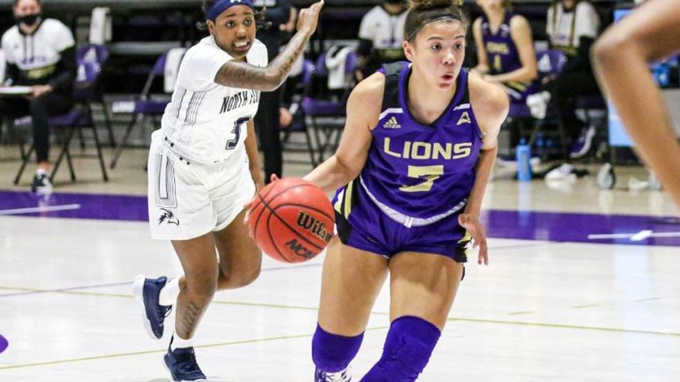 UNA women's basketball: Lions close regular season with loss at Lipscomb