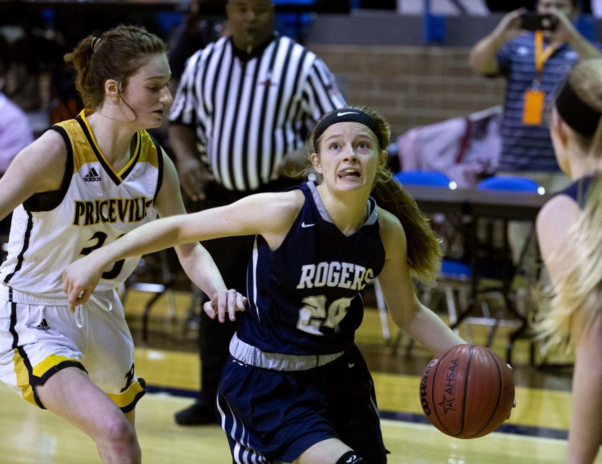 Madie Krieger Rogers Priceville basketball