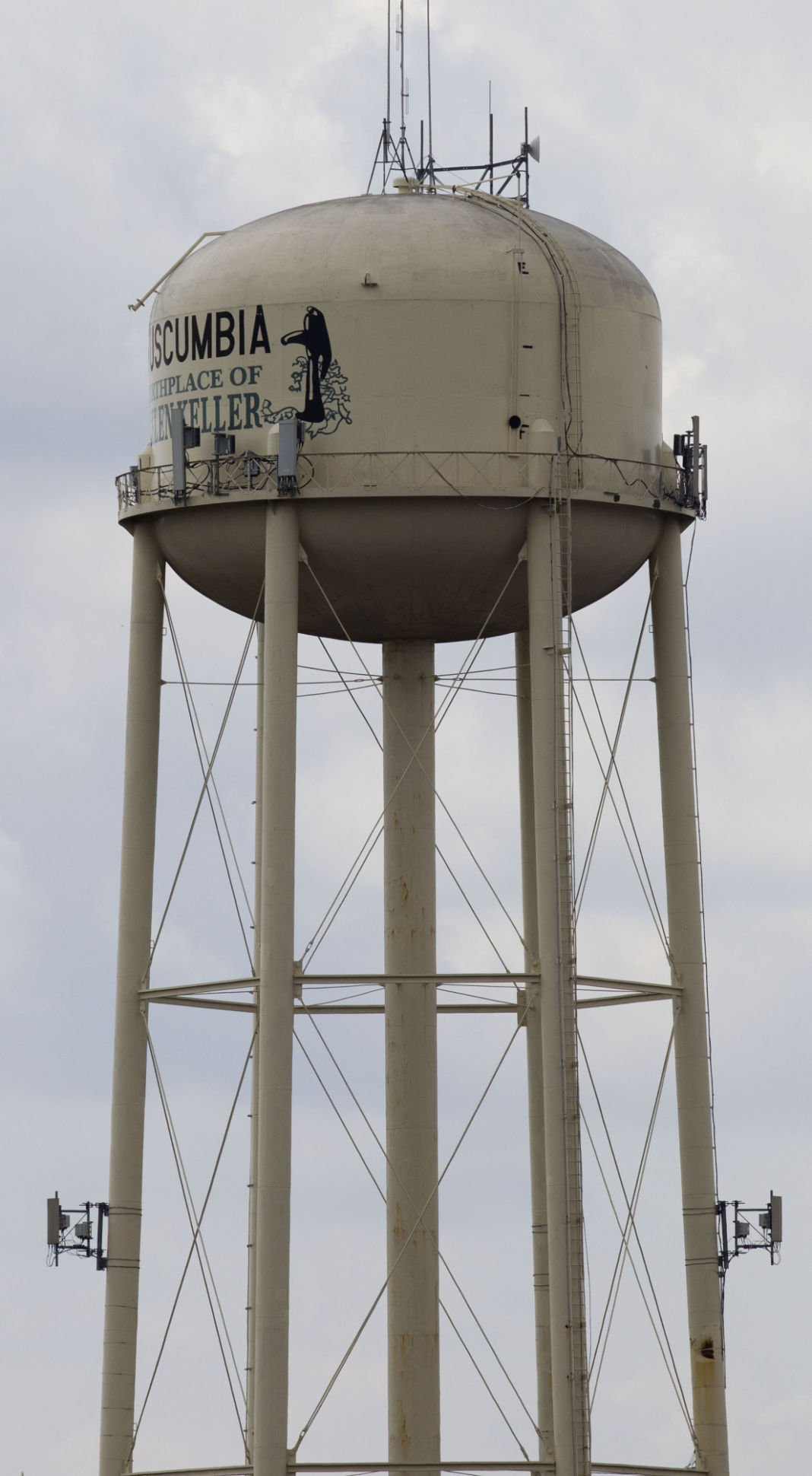 Tuscumbia Water tower & 2 water towers receiving paint jobs | Local News | timesdaily.com