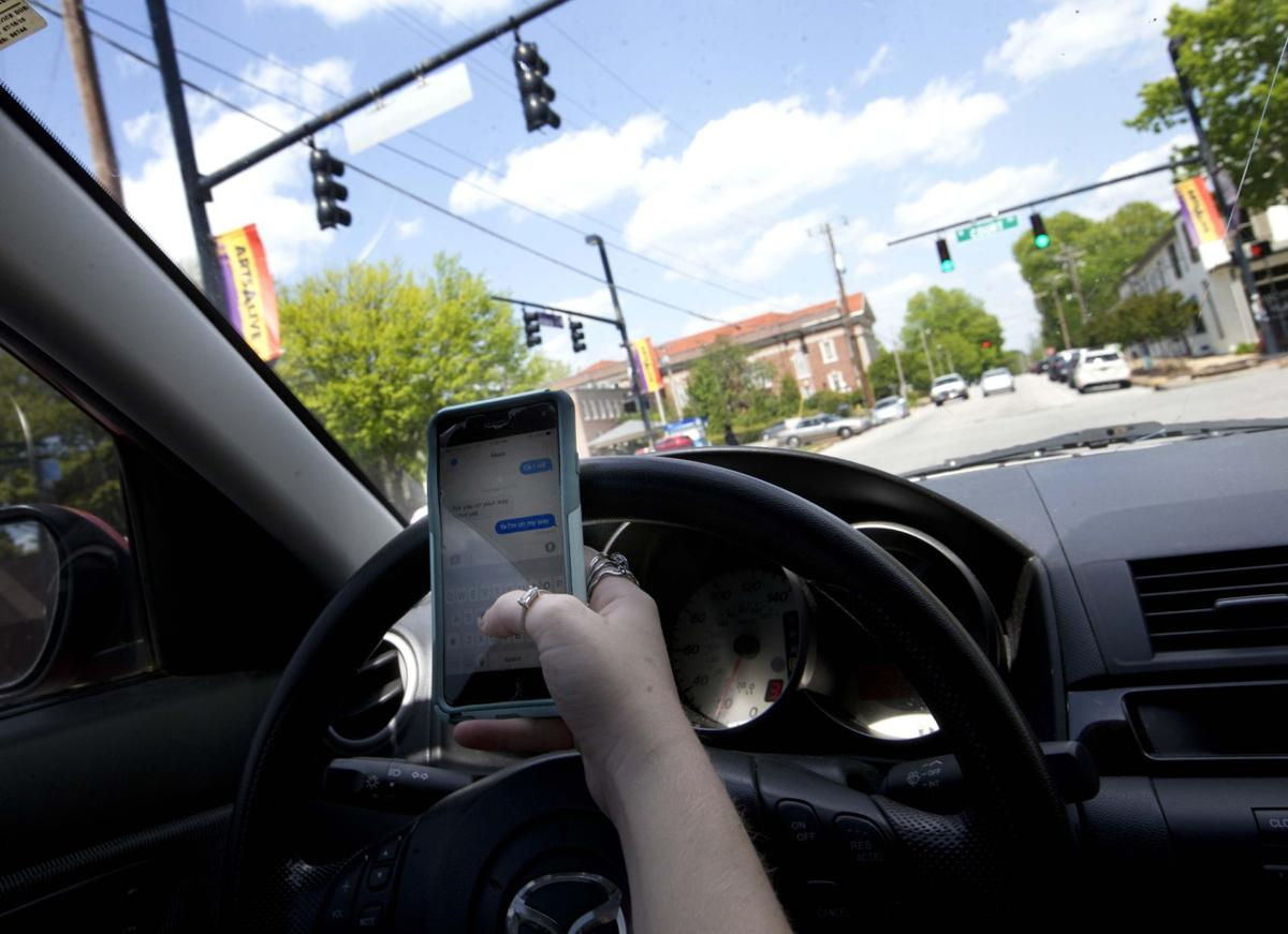 push is on for distracted driving law crime