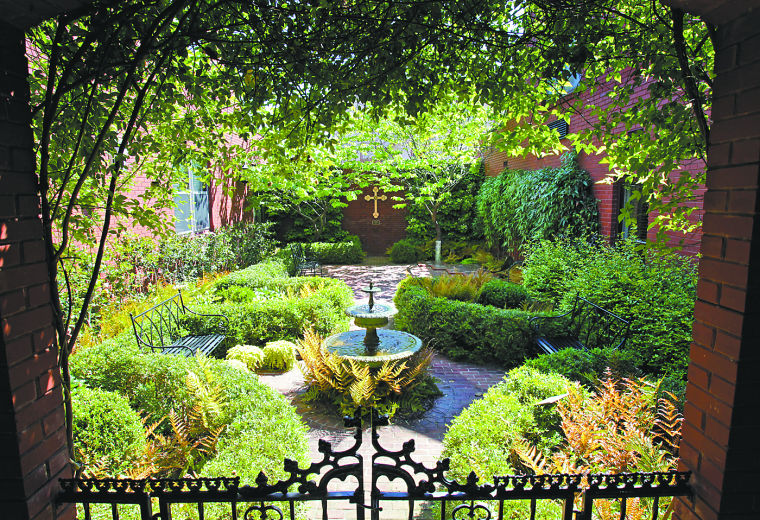 Sacred spaces: Church gardens provide places of solitude, peace ...