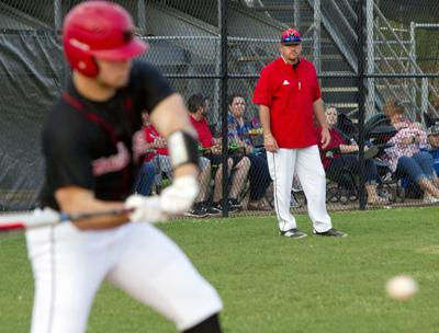 Muscle Shoals baseball coach Josh LouAllen