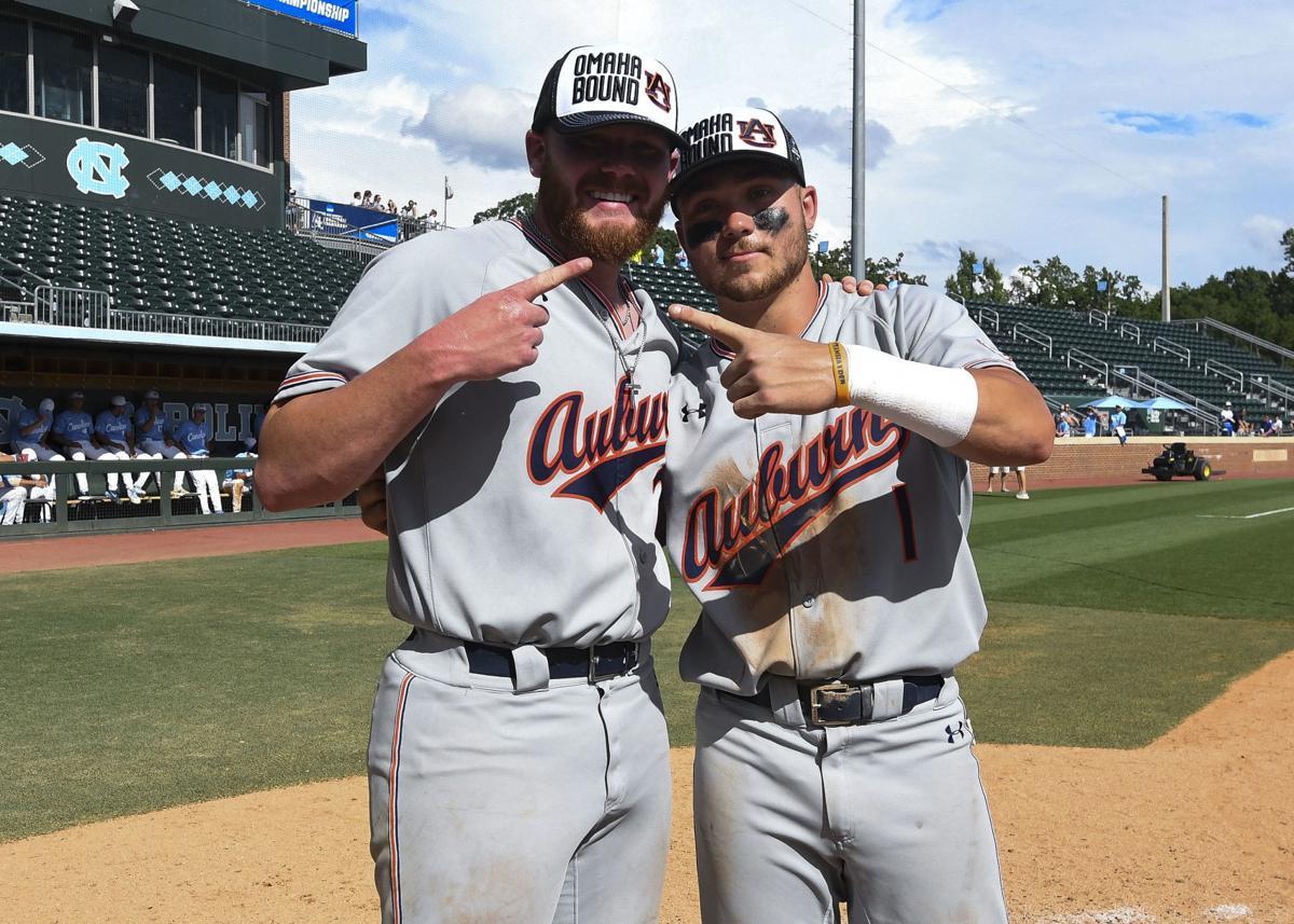 Auburn baseball Cody Greenhill and Judd Ward