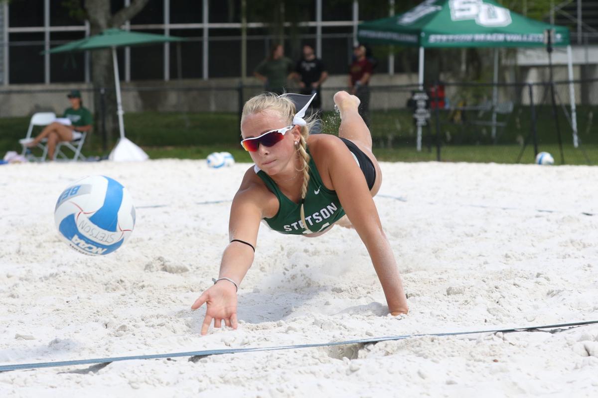 Stetson beach volleyball