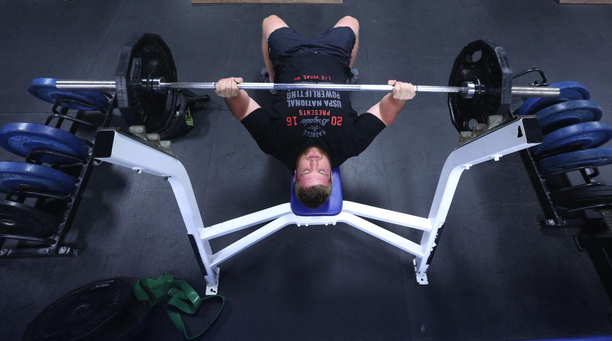 Local man sets powerlifting record   Local News   timesdaily com