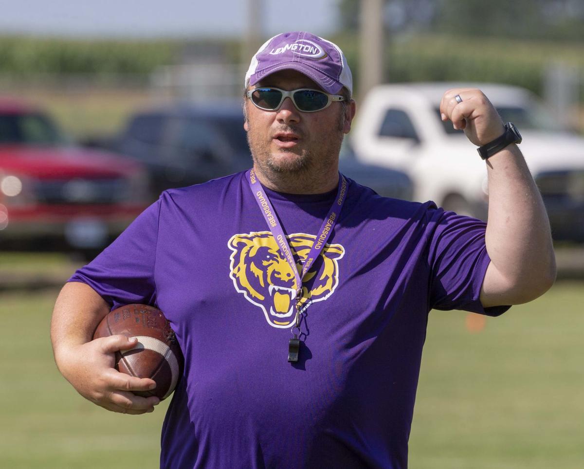 Jason Lard Lexington football