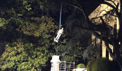 Confederate Monument Removed-Alabama