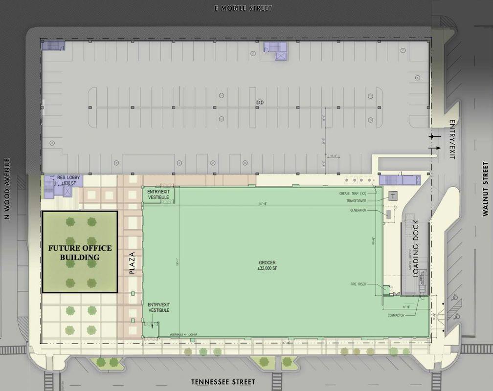 Mandolin floor plan