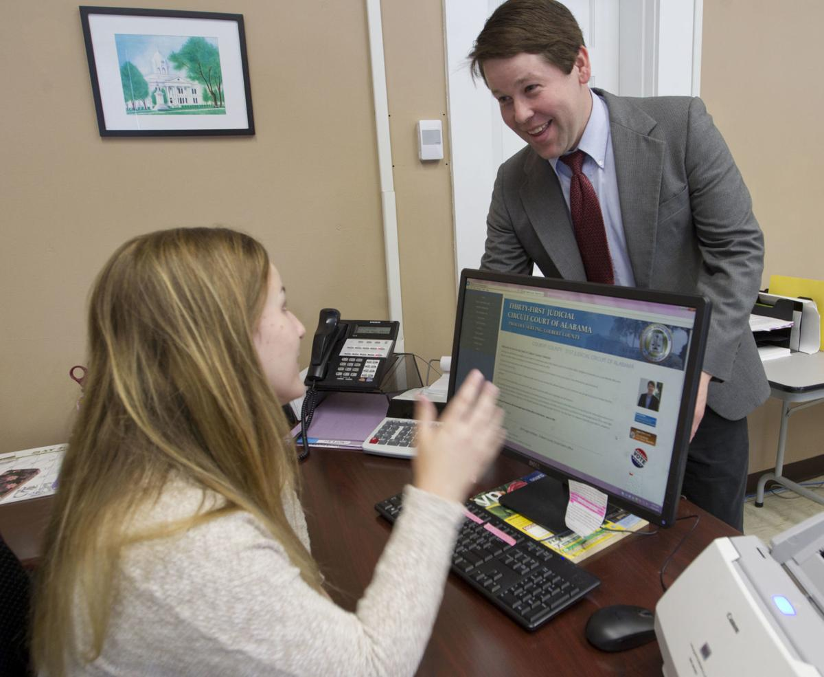 Colbert County circuit clerk proud of new website   News