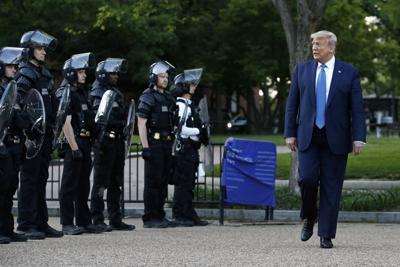 Racial Injustice Trump Photo Op