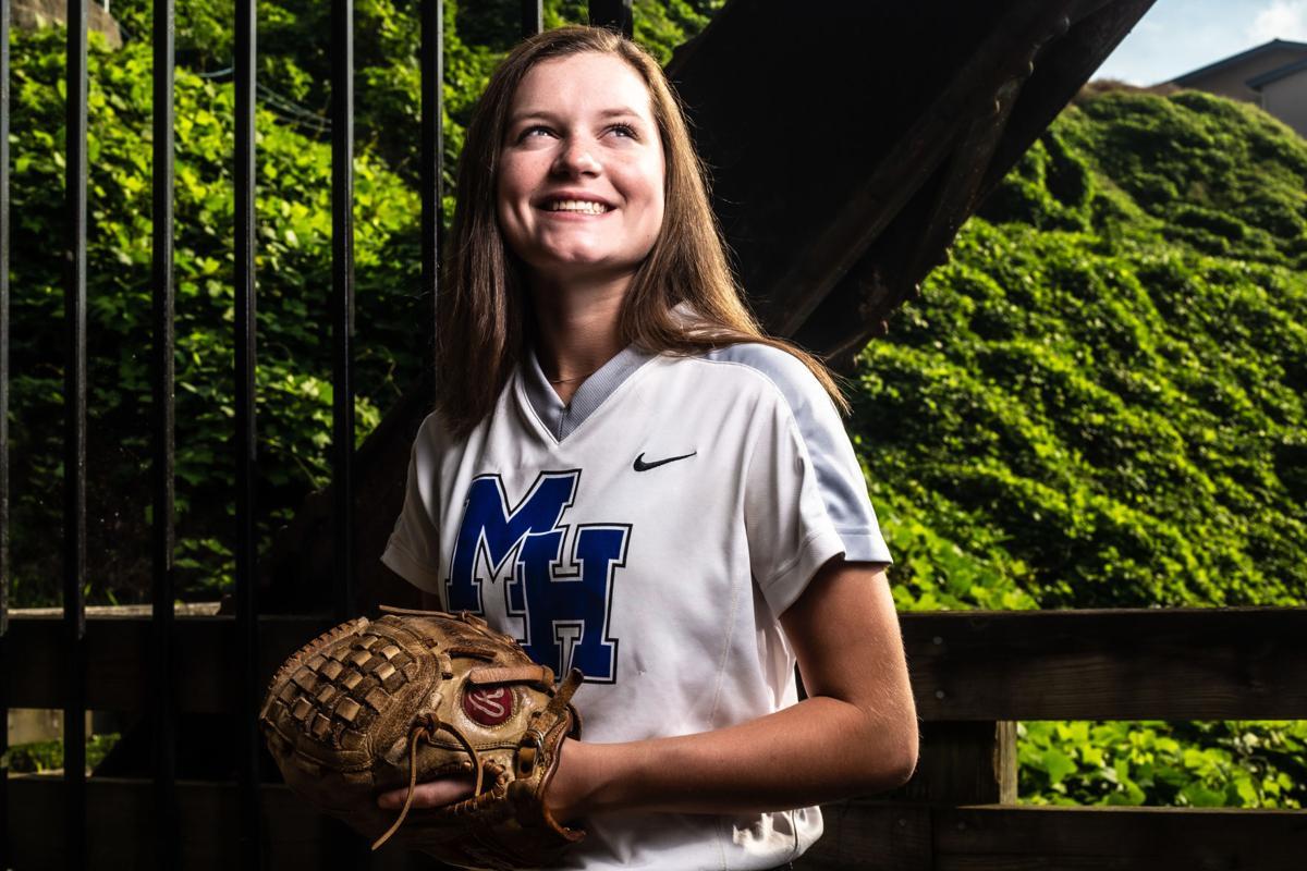 All-Area softball Riley Vaughn