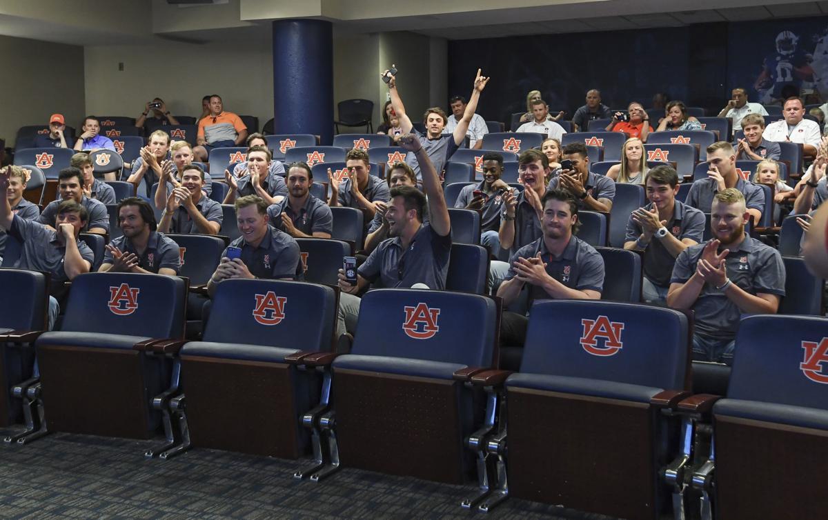 Auburn baseball selection