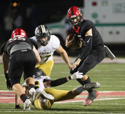 Logan Smothers Muscle Shoals football