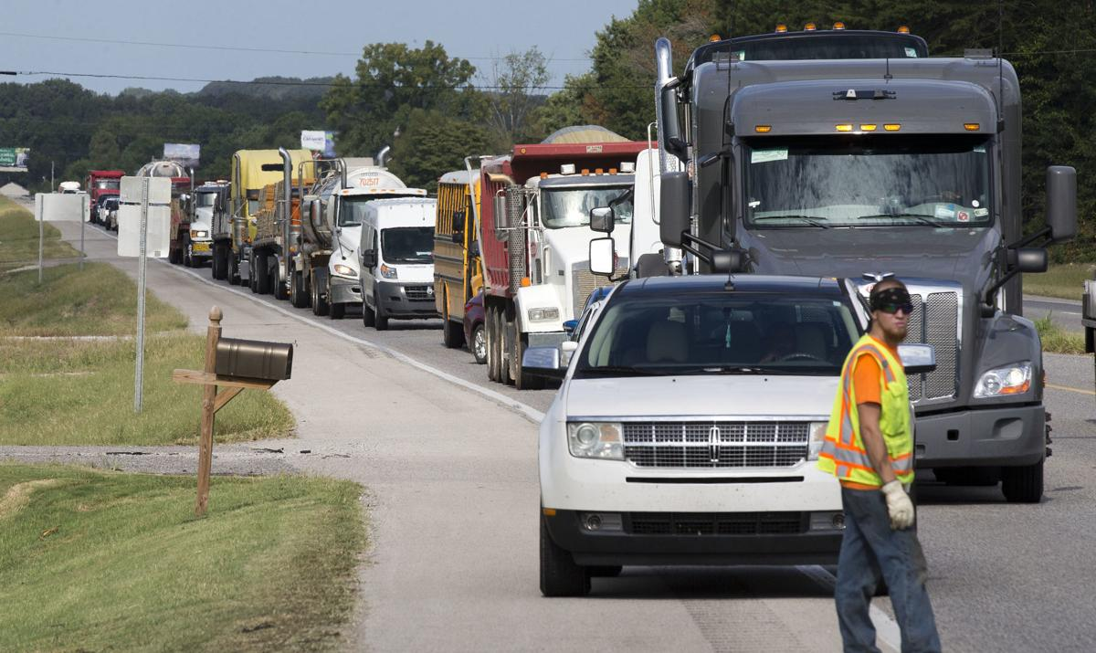 Spillage from wreck jams up US 72 traffic | News