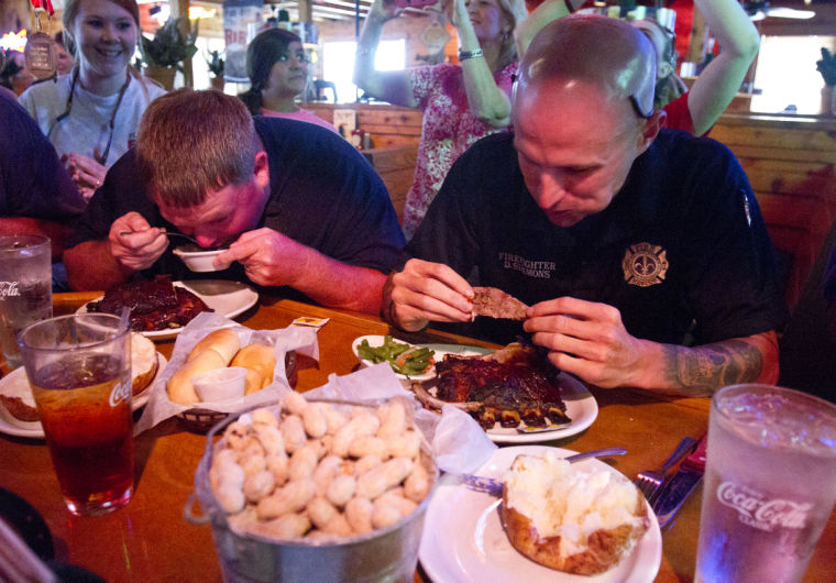 roadhouse texas rib eating timesdaily competition collection