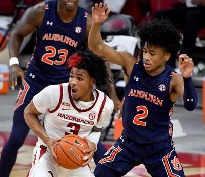 Auburn Arkansas Basketball