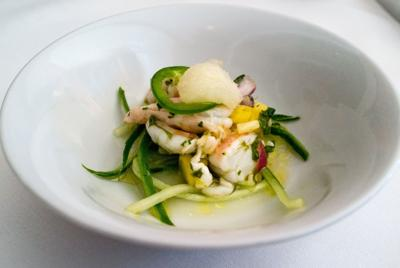 Pineapple Shrimp Ceviche