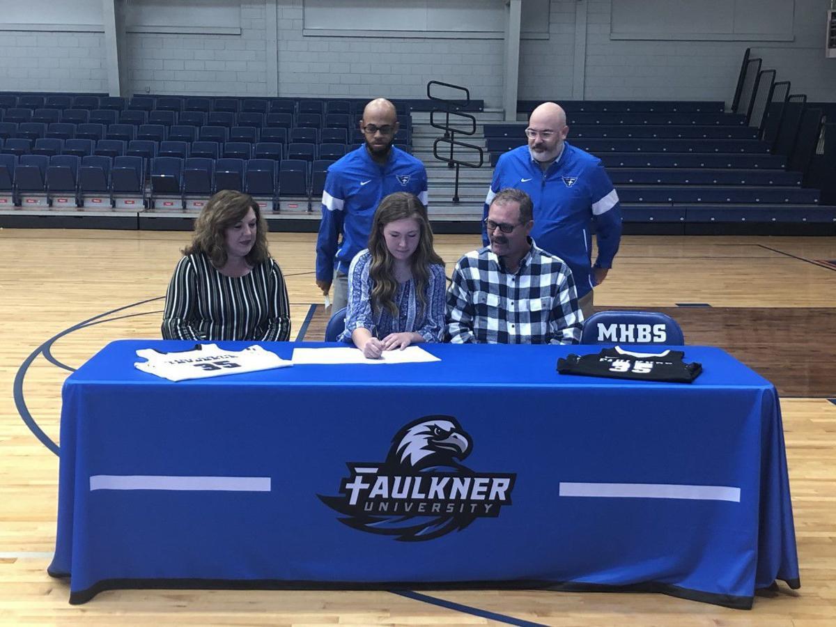 Lauren Allen Mars Hill Faulkner basketball