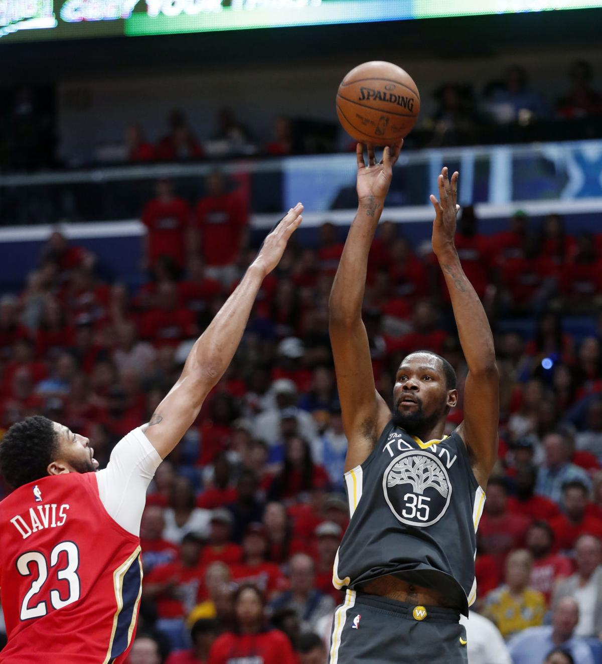 Image result for Warriors down Pelicans for 3-1 lead in NBA playoff arrangement