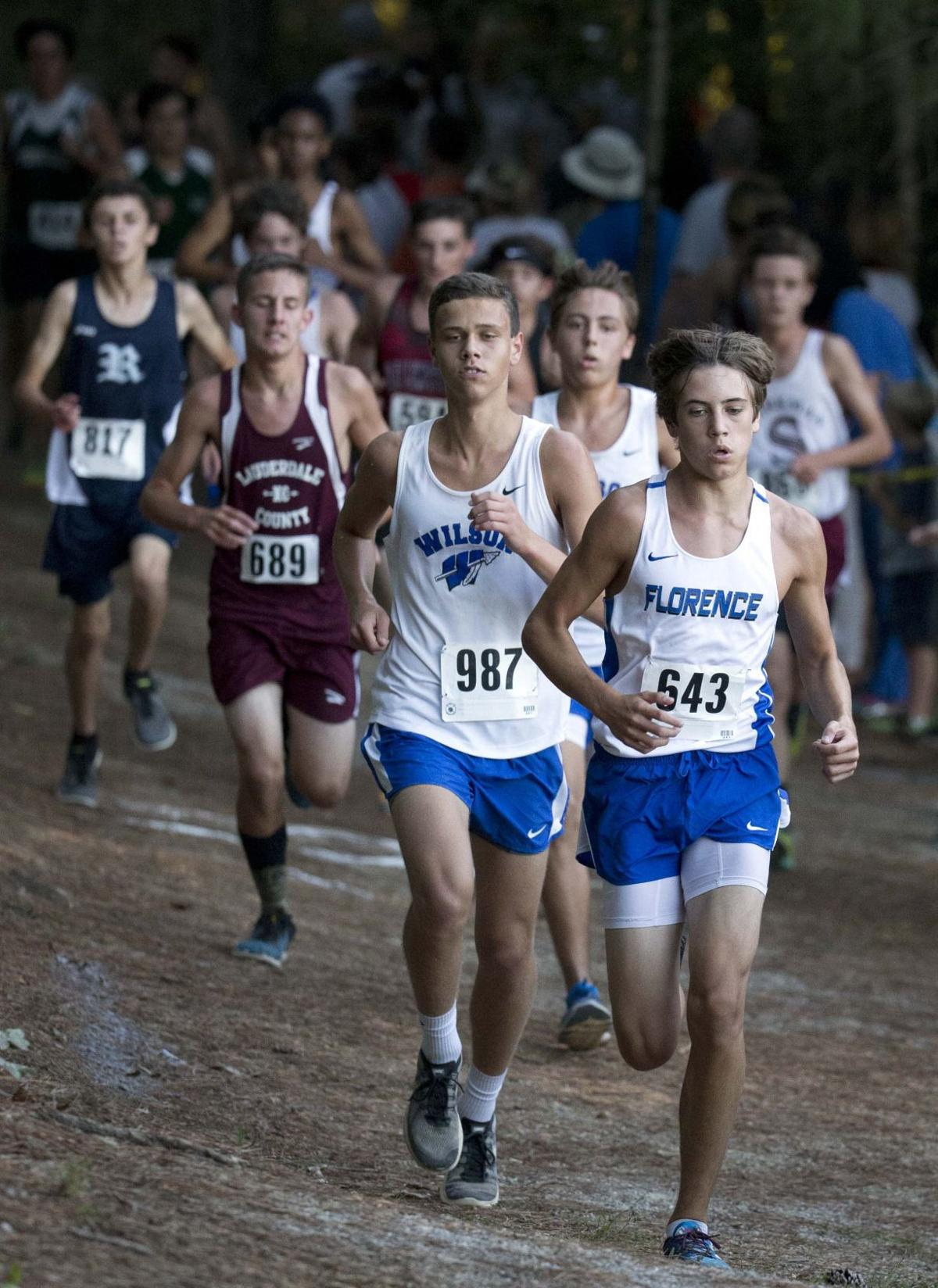 Florence runner Bennett Brake