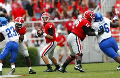 Fromm leads No. 3 Georgia past Middle Tennessee 49-7 (copy)