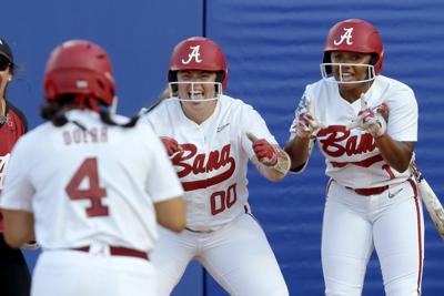 WCWS Arizona Alabama Softball